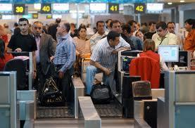 Домодедово. Регистрация пассажиров