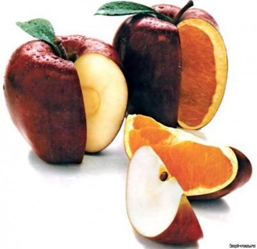 Transgenic fruit-apples