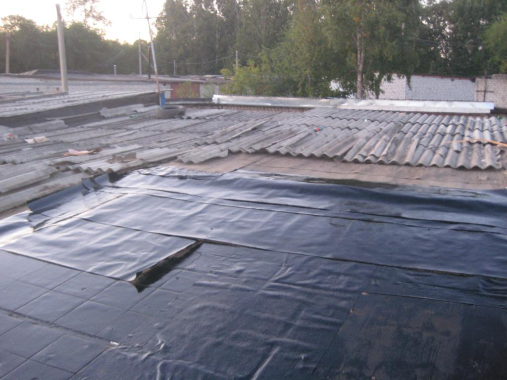 Ремонт крыши кооперативного гаража3