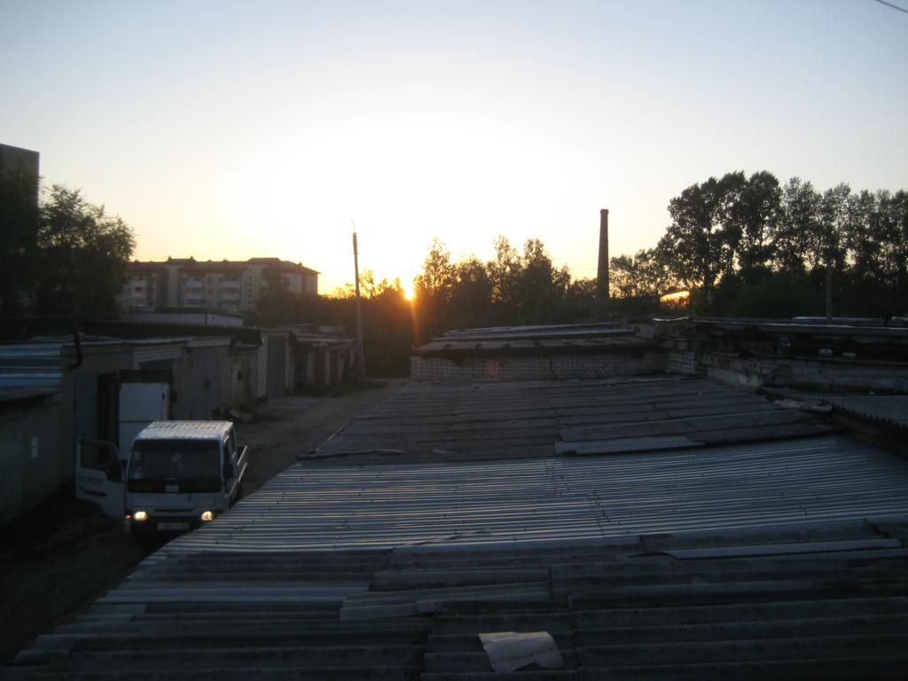 Ремонт крыши кооперативного гаража10jpg