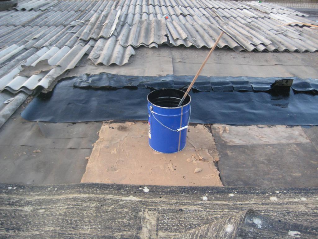 Ремонт крыши кооперативного гаража 2