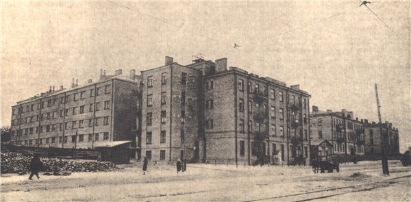 Жилой комплекс кооператива коженвников Киев 1923-32 гг.
