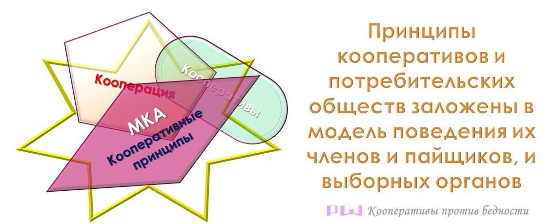 Кооперативы, кооперация, кооперативные принципы