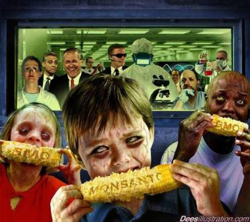 Владелец патента на производство ГМО зерна и других растений.