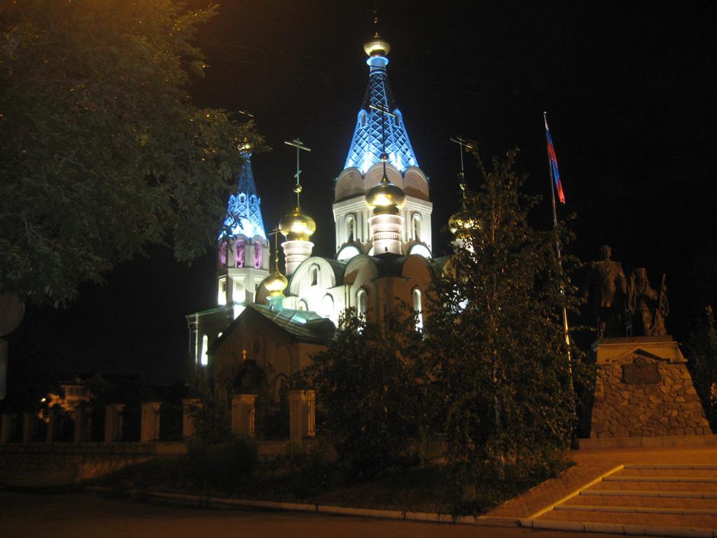 Кафедральный собор города Благовещенск