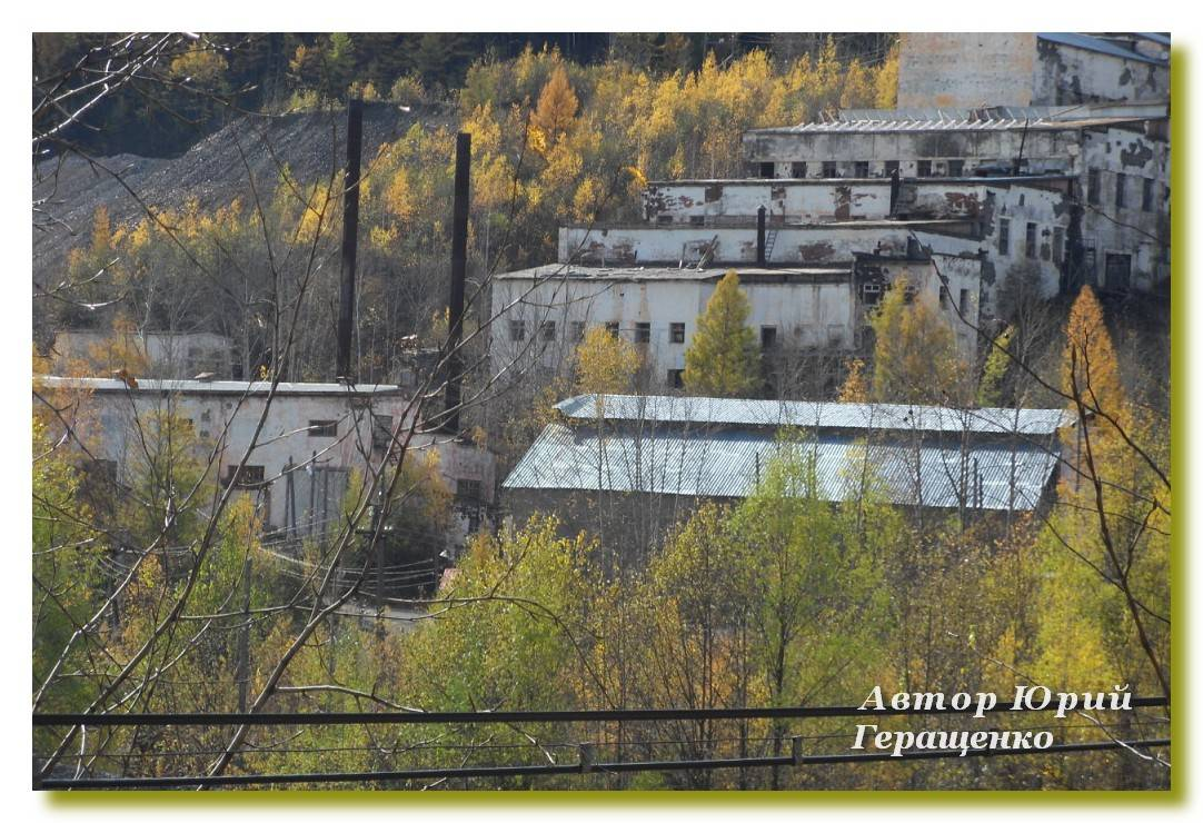 Обогатительная фабрика в пгт Токур. -1