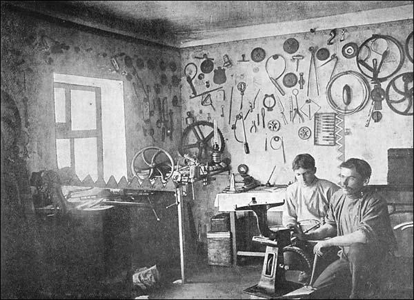 Специальная мастерская для ремонта с.-х. машин
