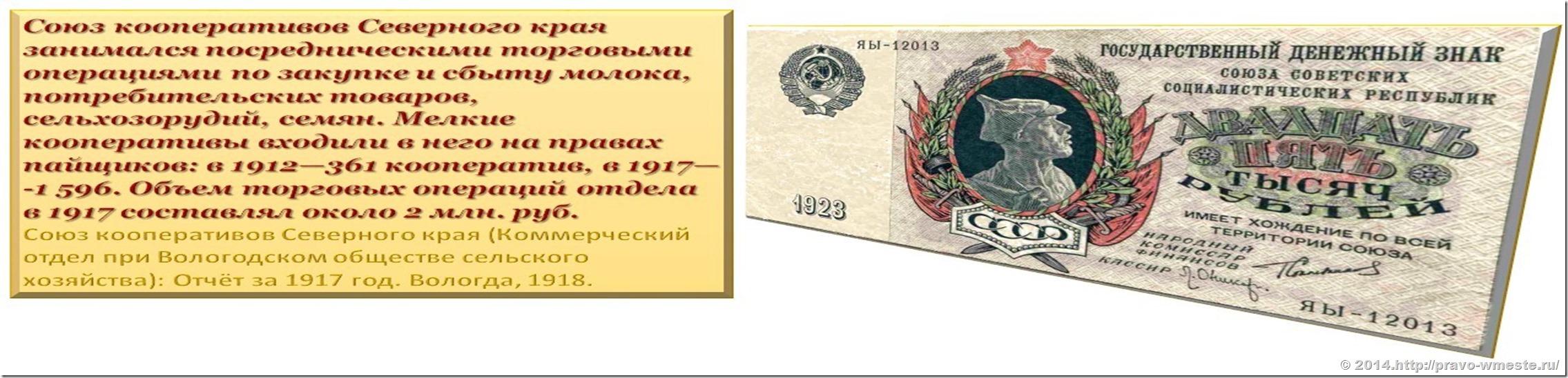 Коммерческий отдел Вологодской Губернии