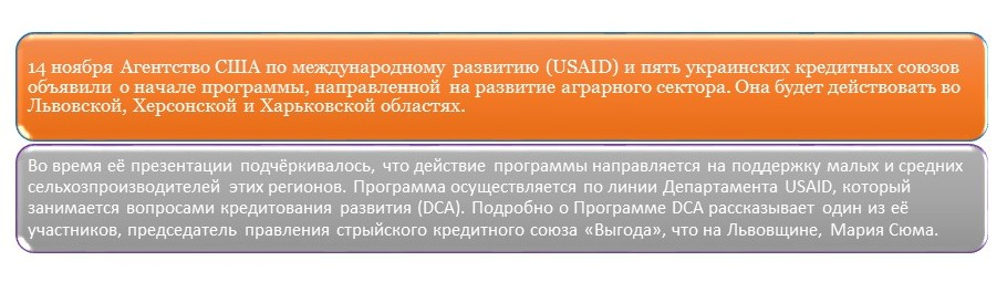 Кооперативы Украины