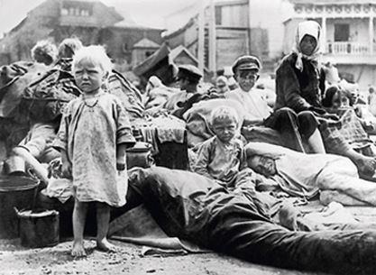 Борьба с голодом в Поволжье