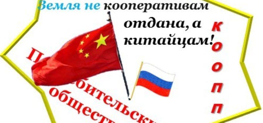 Как Дальневосточная земля отдана не кооперативам, а китайцам