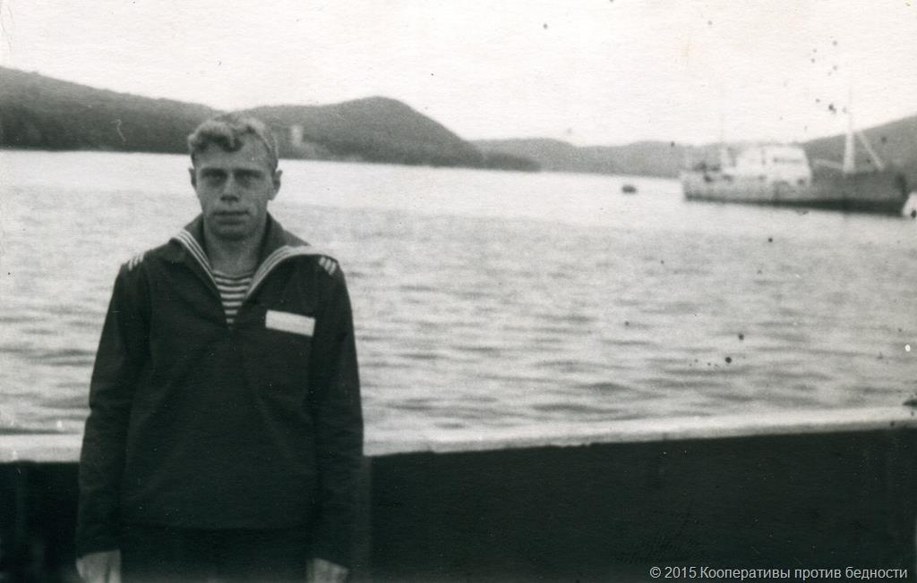 Морской пейзаж. Ст.1-й статьи Г. Якимов