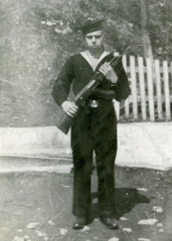 Учебный отряд подводного плаванья 1969