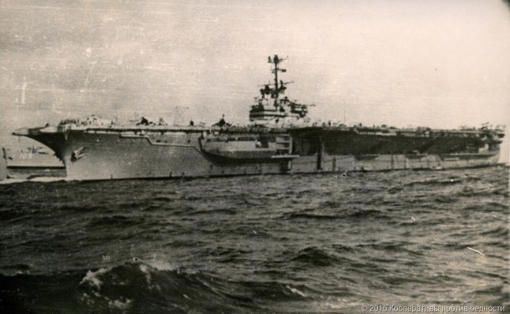 ВМФ США Авианосец Орискани