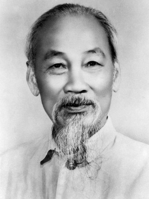 Политический лидер Вьетнама Хо Ши Мин