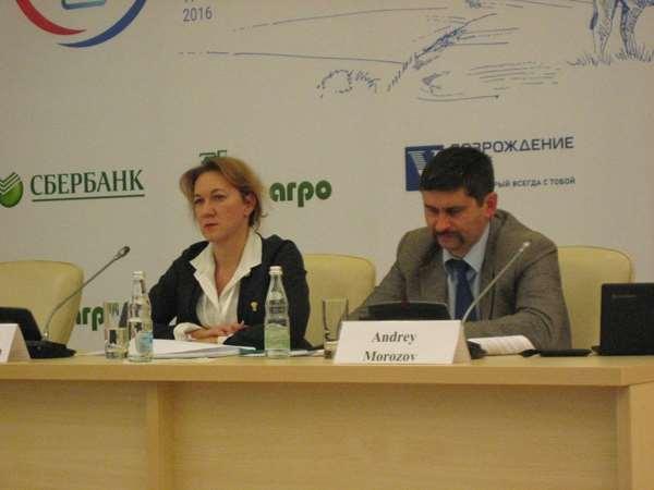 Ольга Башмачникова и Андрей Морозов