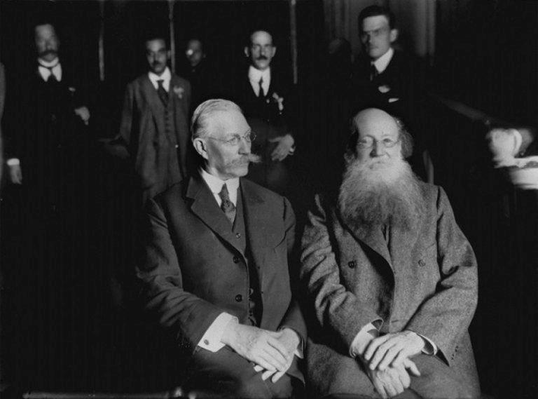 П.А. Кропотки и П.Н. Милюков