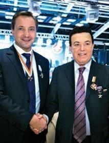 С народным артистом СССР Иосифом Кобзоном