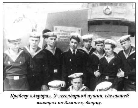 Leningrad.-Kreyser-Avrora.