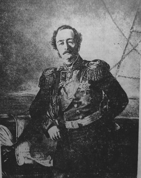 Губернатор Восточной Сибири Н.Н. Муравьёв-Амурский.