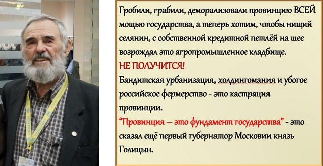 Г.Д. Стремоухов о селе 21 века